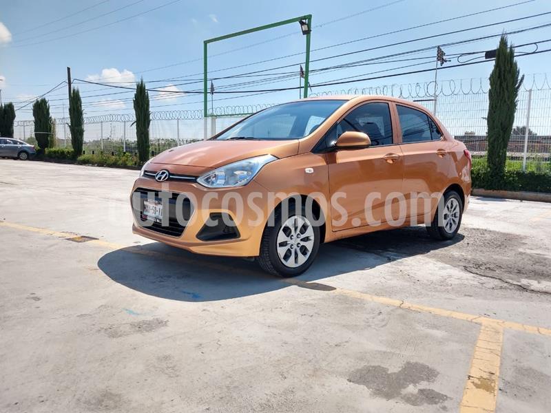Hyundai Grand i10 GL MID usado (2016) color Naranja precio $125,000