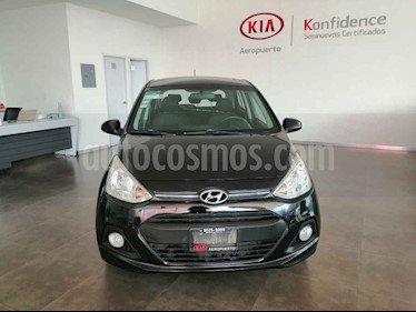 Hyundai Grand i10 4p GLS L4/1.2 Man usado (2016) color Negro precio $129,000