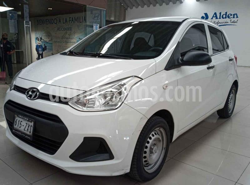 Hyundai Grand i10 GL usado (2015) color Blanco precio $125,000
