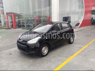 Hyundai Grand i10 GL MID usado (2015) color Negro precio $95,000