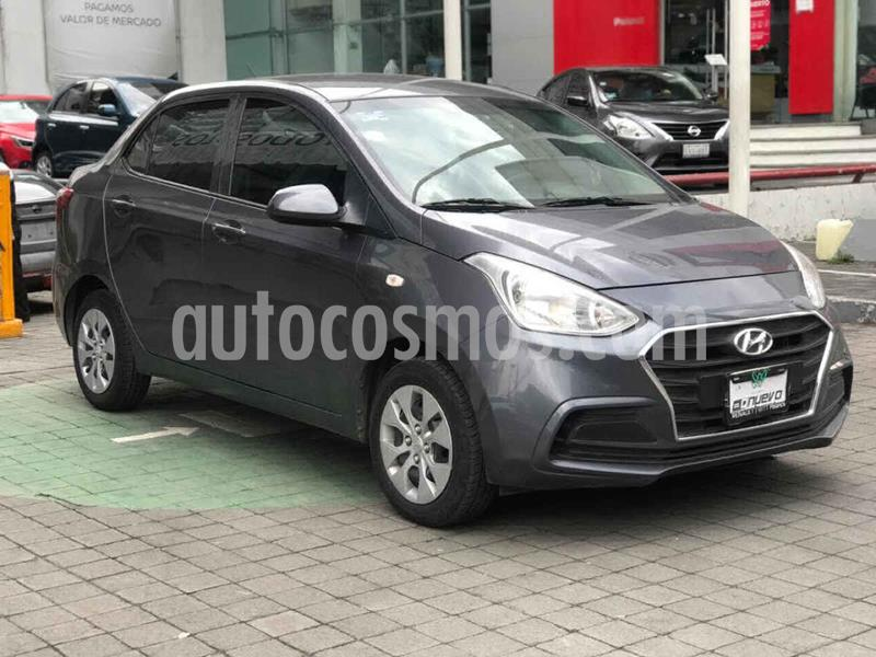 Hyundai Grand i10 GL MID Aut usado (2019) color Gris precio $179,000