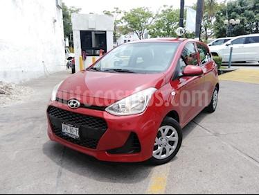 Hyundai Grand i10 GL MID usado (2018) color Rojo precio $169,000