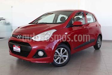 Hyundai Grand i10 4p GL L4/1.2 Man usado (2016) color Rojo precio $148,000