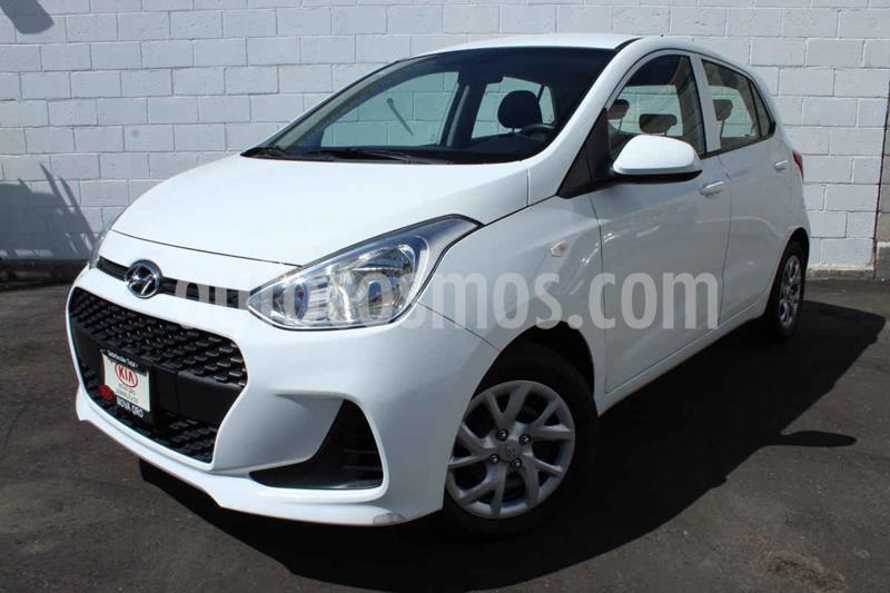 Hyundai Grand i10 GL MID usado (2020) color Blanco precio $185,000