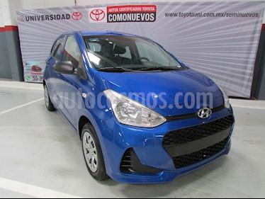 Hyundai Grand i10 GL usado (2019) color Azul precio $174,000