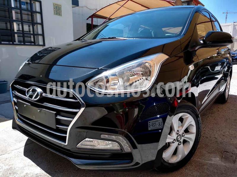 Hyundai Grand i10 GLS Aut usado (2020) color Negro precio $210,000