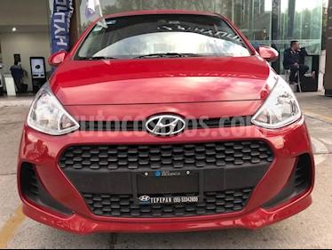 Hyundai Grand i10 GL MID Aut usado (2018) color Rojo precio $159,000