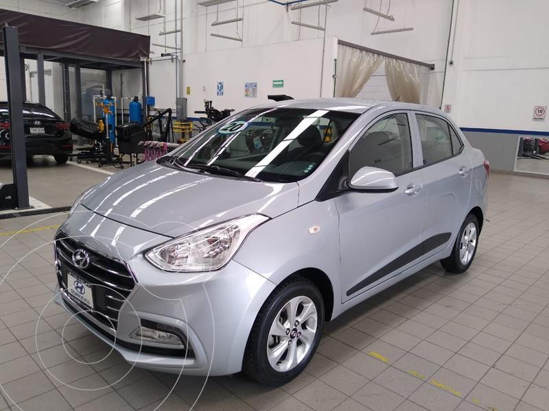 Foto Hyundai Grand i10 GLS Aut usado (2020) color Plata Dorado precio $205,000