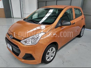 Hyundai Grand i10 5P GL MIDL4/1.2 PREMIUM MAN usado (2015) color Naranja precio $115,000
