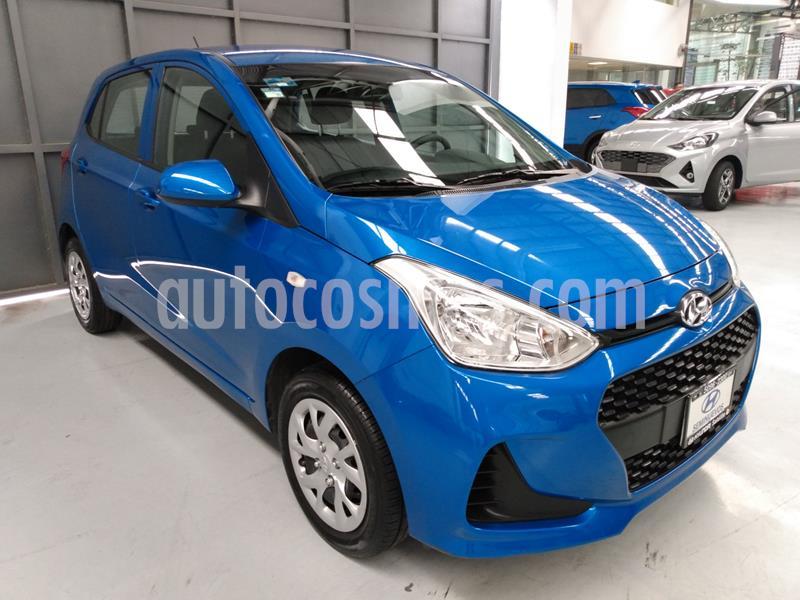 Hyundai Grand i10 GL MID usado (2019) color Azul precio $178,900