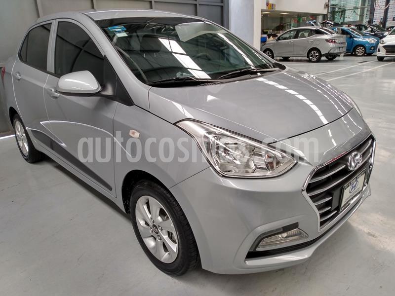 Hyundai Grand i10 GLS usado (2020) color Plata Dorado precio $212,000