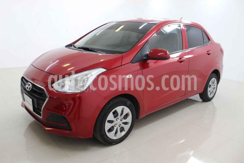 Hyundai Grand i10 GL MID Aut usado (2020) color Rojo precio $179,000