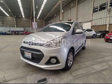 Hyundai Grand i10 GLS Aut usado (2017) color Plata precio $159,000