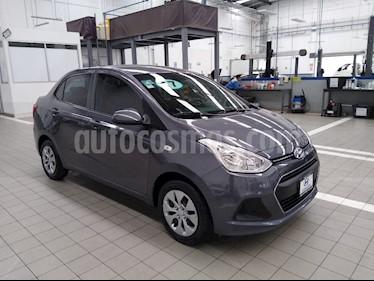 Hyundai Grand i10 GL MID Aut usado (2017) color Gris precio $165,000
