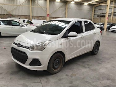 Hyundai Grand i10 4p GL MID L4/1.2 Premium Aut usado (2017) color Blanco precio $52,000
