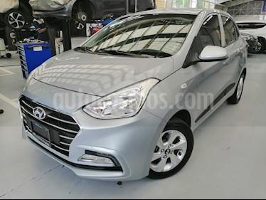 Hyundai Grand i10 GLS usado (2020) color Gris precio $190,000