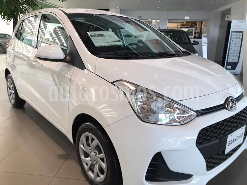 Hyundai Grand i10 GL MID Aut usado (2020) color Blanco precio $212,500