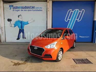 Hyundai Grand i10 GL MID usado (2020) color Naranja precio $137,000