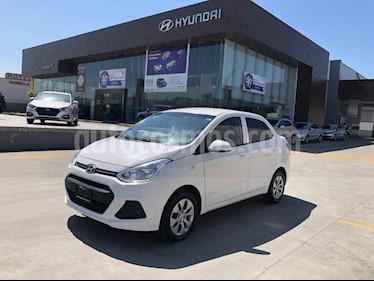 Hyundai Grand i10 4p GL MID L4/1.2 Premium Aut usado (2017) color Blanco precio $159,000