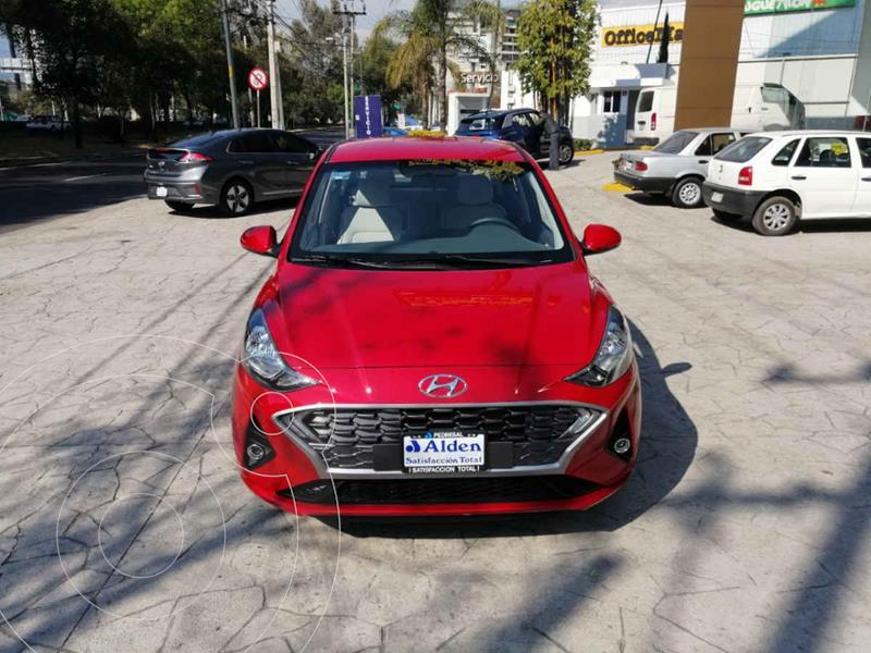 Hyundai Grand i10 GLS Aut usado (2021) color Rojo precio $272,400