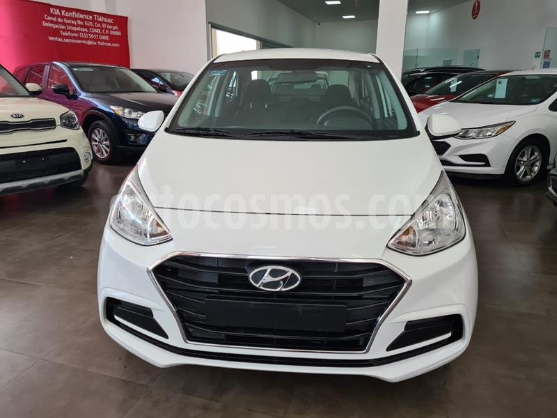 Hyundai Grand i10 GL MID Aut usado (2019) color Blanco precio $169,000