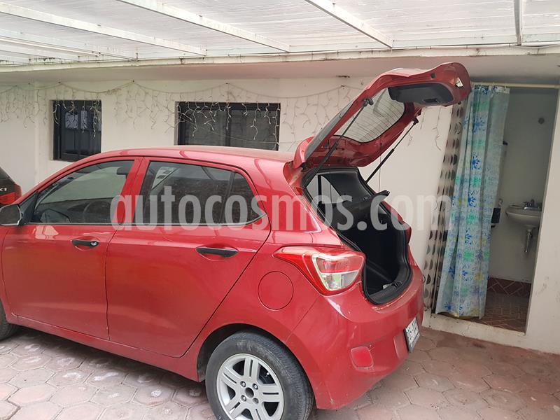 Hyundai Grand i10 GL Aut usado (2015) color Rojo precio $90,000