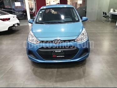 Hyundai Grand i10 4p GL MID L4/1.2 Premium Man usado (2016) color Azul precio $124,000