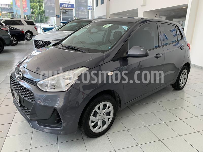 Hyundai Grand i10 GL MID usado (2018) color Gris precio $143,000