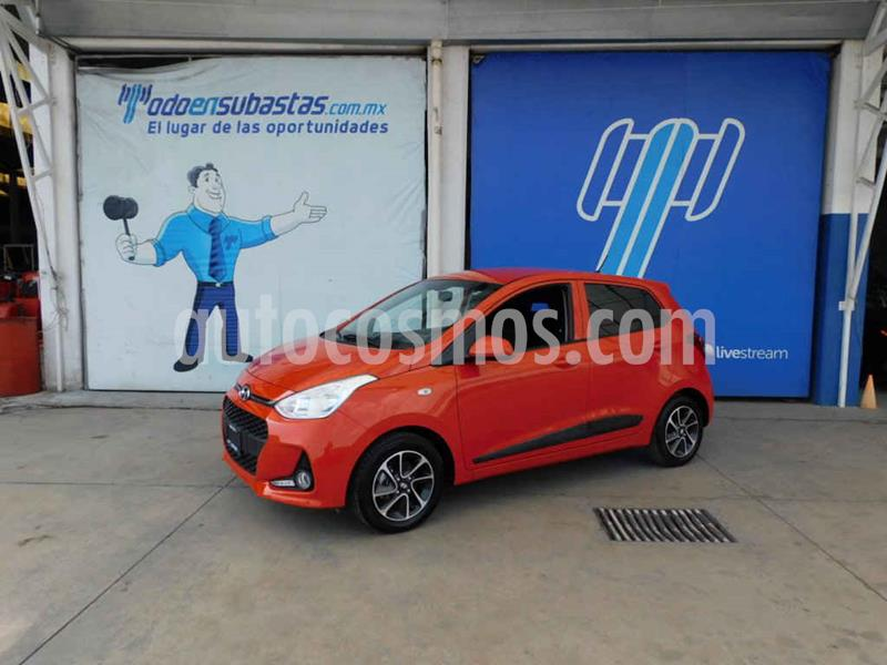 Hyundai Grand i10 Version usado (2019) color Naranja precio $124,000