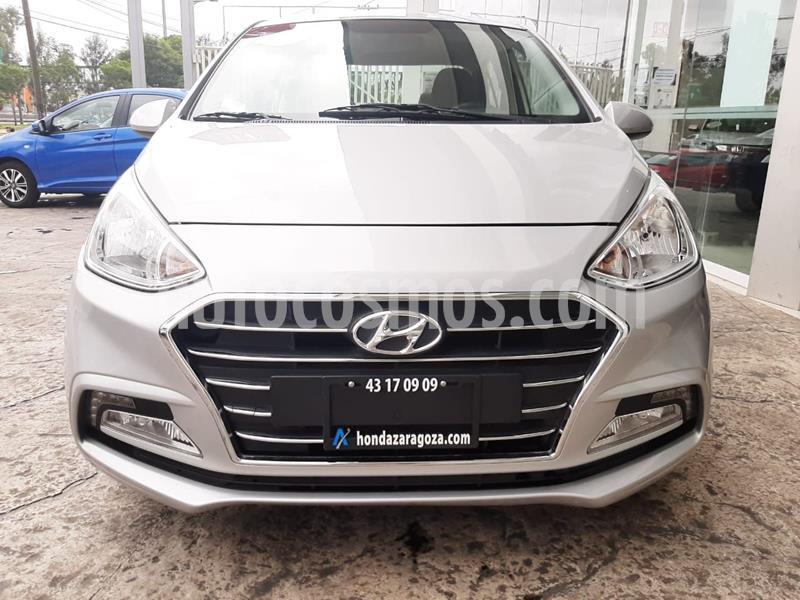 Hyundai Grand i10 GLS usado (2018) color Plata Dorado precio $162,900