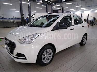 Hyundai Grand i10 4P GL TM5 R-14 usado (2018) color Blanco precio $165,000