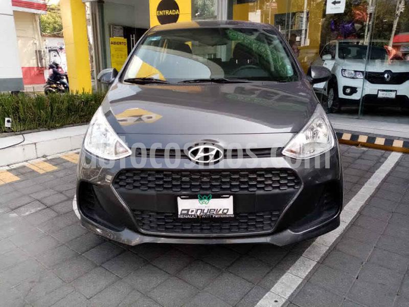 Hyundai Grand i10 GL usado (2020) color Gris precio $179,000