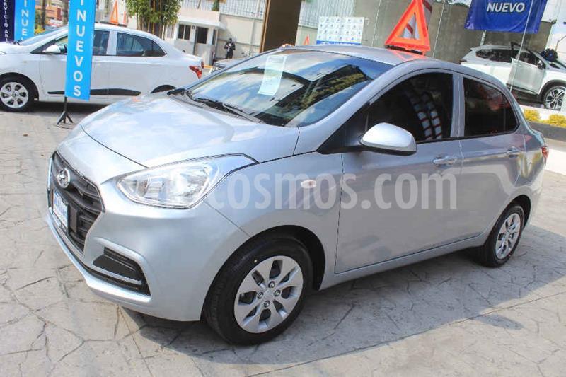 Hyundai Grand i10 GL MID Aut usado (2020) color Plata precio $222,500