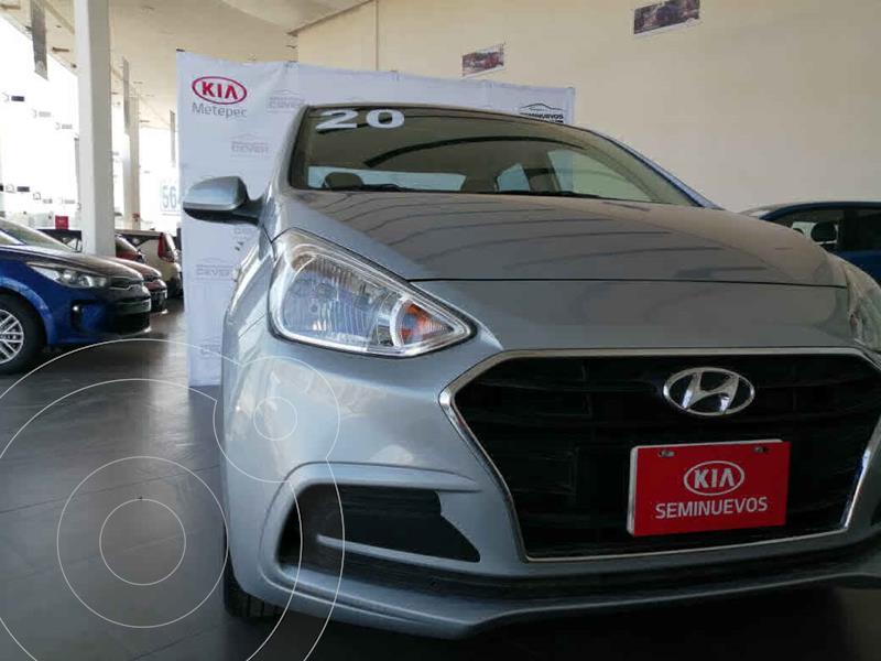 Foto Hyundai Grand i10 GLS Aut usado (2020) color Plata precio $219,900