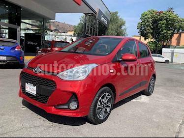 Hyundai Grand i10 4p GLS L4/1.2 Aut usado (2018) color Rojo precio $175,000