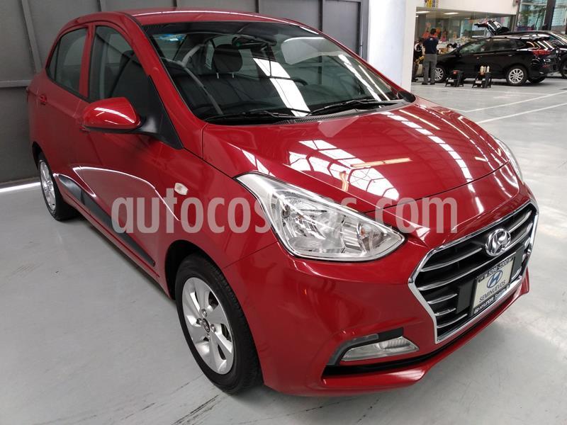 Hyundai Grand i10 GLS usado (2020) color Rojo precio $210,000