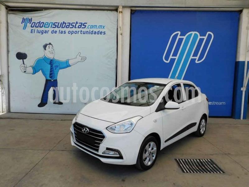 Hyundai Grand i10 GLS usado (2018) color Blanco precio $93,000