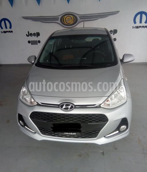 Hyundai Grand i10 GLS usado (2018) color Plata Dorado precio $160,000