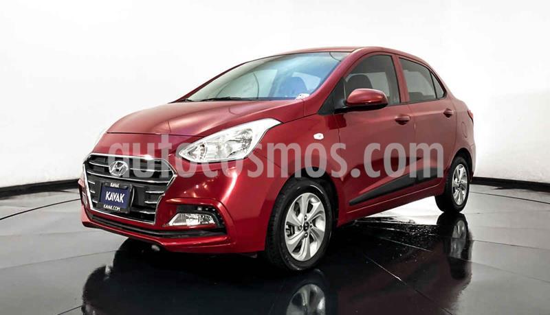 Hyundai Grand i10 GLS Aut usado (2019) color Rojo precio $214,999