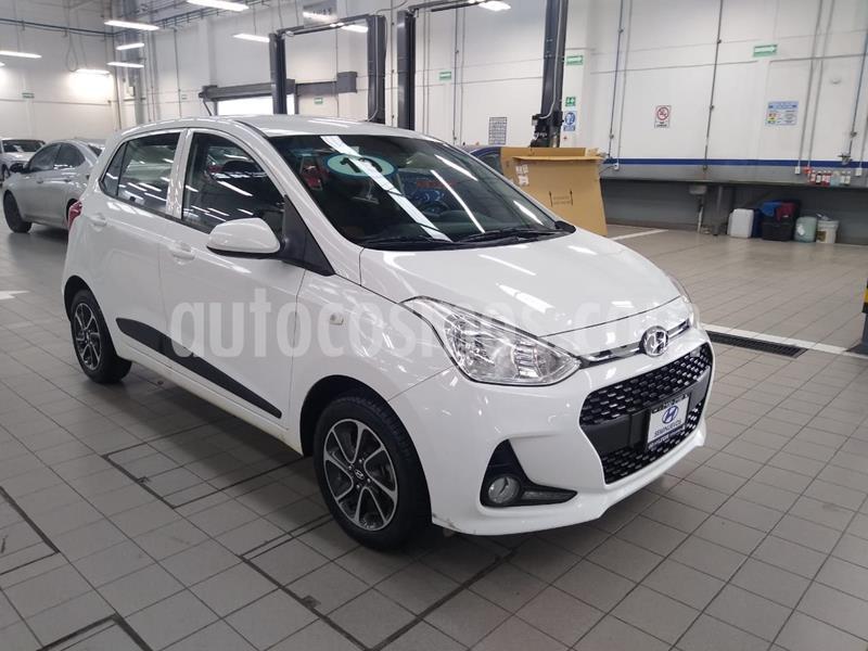 Hyundai Grand i10 GLS usado (2019) color Blanco precio $185,000