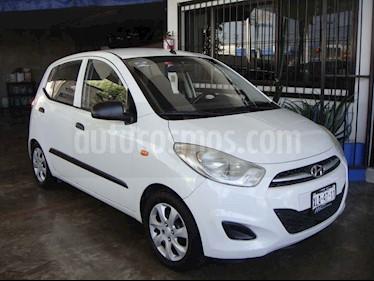 Hyundai Grand i10 GL Aut usado (2014) color Blanco precio $90,000