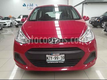 Foto Hyundai Grand i10 GL MID usado (2017) color Rojo precio $157,000