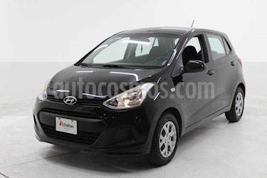 Hyundai Grand i10 GL MID usado (2016) color Negro precio $125,000