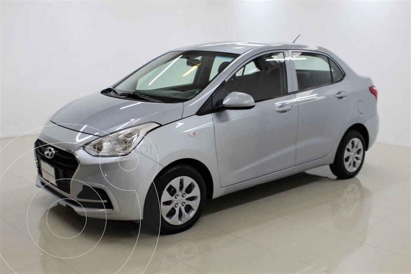 Foto Hyundai Grand i10 GL MID Aut usado (2020) color Plata precio $198,000