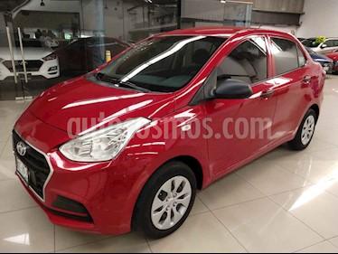 Hyundai Grand i10 GL usado (2018) color Rojo precio $165,000