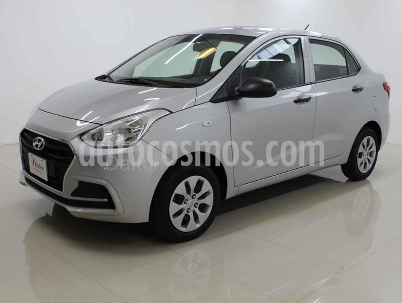 Hyundai Grand i10 GL usado (2018) color Plata precio $148,000