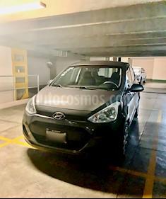 Hyundai Grand i10 GL MID Aut usado (2016) color Gris precio $135,000