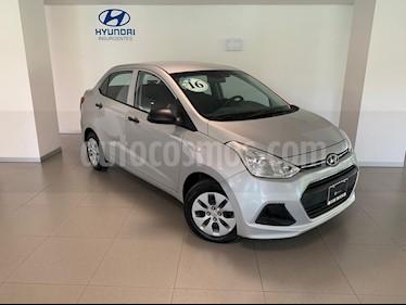 Foto venta Auto usado Hyundai i10 Sedan GL Aut (2016) color Plata precio $159,000