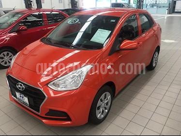 Foto venta Auto usado Hyundai i10 Sedan GL MID Aut (2018) color Naranja precio $189,000