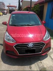 Foto Hyundai i10 Sedan GL MID Aut usado (2018) color Rojo precio $172,000